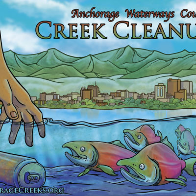 Anchorage Creek Cleanup Poster